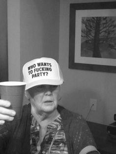 old lady party animal