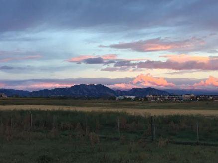 flatiron sunrise